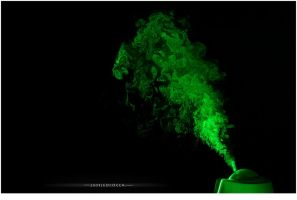 Green mist by subaqua