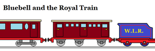 Bluebell and the Royal Train by WhippetWild