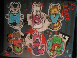 mini badges batch 4 by FurryFursuitMaker