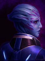 Mass Effect: Tela Vasir by ruthieee