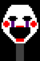 The Puppet head - Pixel Art by choche007carlos