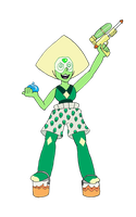 The Great And Loveable Peridot by MommaCabbit