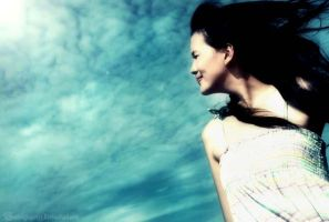 The sky and me by Freestylegirlzz
