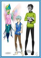 GU: guardians as students Monsters University by MindlessKate
