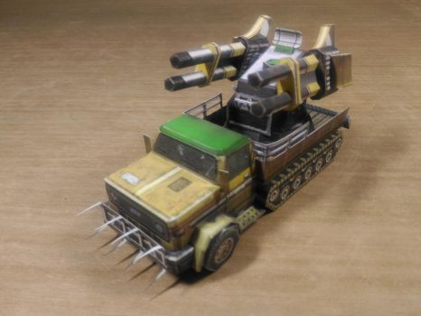 GLA Quad Cannon Papercraft (RotR version) by n5p29