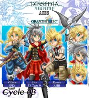 DissidiaAces - Cycle 3 - PRELIMINARY ROUND by oOFlorianeOo