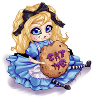 Alice chibi by MadModesty
