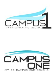 MY EZ Campus One Logo Design by GanjaNinja