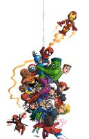 A String of Marvel by SachaLefebvre