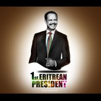 first President of eritrea by M-AlJabarty