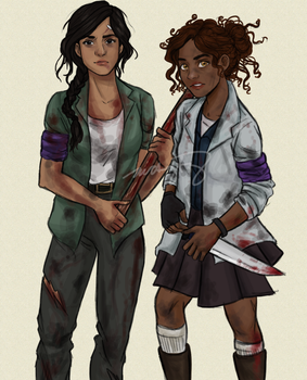 Reyna and Hazel by incredibru