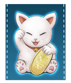 Fortune Cat by JoaoLavado