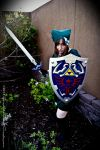 Link Ready for Battle by EmeraldCoastCosplay