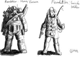 Soldier Concepts by Idle-Thumbs