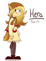 Hera Reference by asclepiusartist
