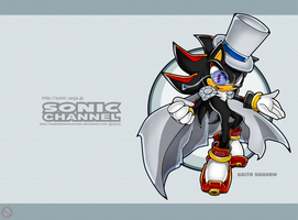 Kaito Shadow Sonic Channel Wallpaper by shadowhatesomochao