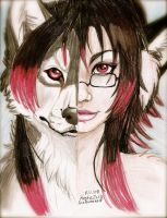 Anrui's Inner Wolf by NatsumeWolf
