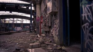 Lost Place Roundhouse #5 by Rainyphoto