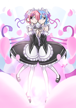 Rem and Ram!! by SG27889