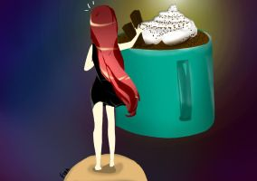 Hot Cup Of Cocoa by Syahiirah