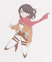 mikasa by PastelPyre