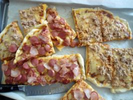 Pizza Slices by PnJLover