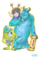 MONSTERS INC by arucarrd