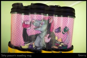 Sithy's travelling mug by Grion