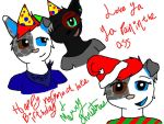 Happy very late birthday and merry christmas AJ!!! by biggywoot