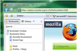 Firefox in Vista Font Family by uselessdesires