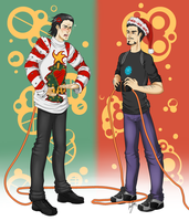 A FrostIron Christmas by The-Poison-Study