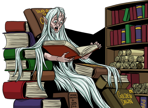 Elf Librarian by ProdigyDuck