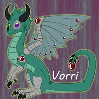 Vorri Colored Sketch by Yorialu