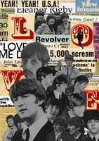 Rejected collage - Beatlemania by Clownboss