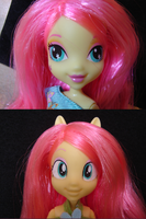 equestria girls fluttershy custom by lemonkylie