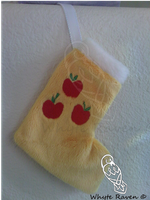 Apple Jack MLP Christmas Stocking by Whyte-Raven