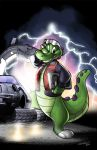BLFC Microdile Poster - Sounds of the Future by Eligecos