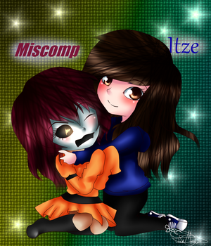 Miscomp and Itze by morena-chan