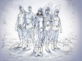 All-New X-Men by adrian-kat