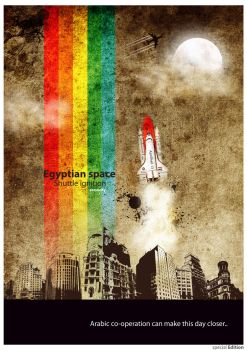 egyptian shuttle ignition by Eagle806