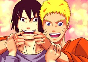 Sasukeeeeee.... Say CHEESEEEEE by Feiuccia