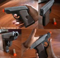 Team Fortress 2 Pistol by fevereon
