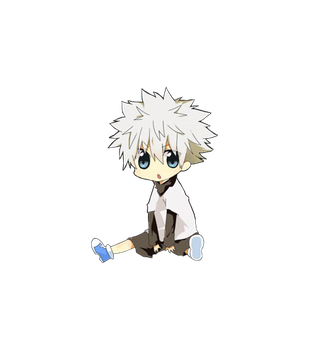 Chibi Killua Render by KnightsWalker912
