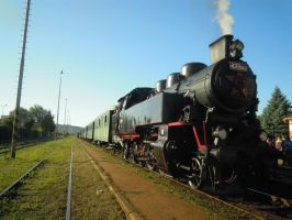 Historical steam train II by Erijel