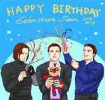 Happy Birthday to Sebastian by fonin