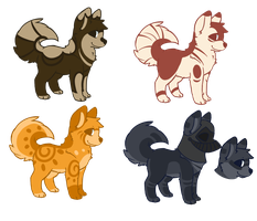Canine batch 3 -Closed- by Feradopts