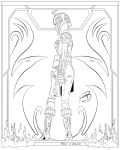 Coloring Pages- Sabine Wren by RCBrock