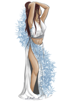 Greek Goddess Katara by kattyko