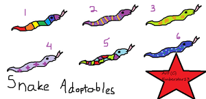 Snake Adopts by emberstar13
