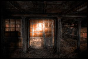 Underground entrance by Marco-art